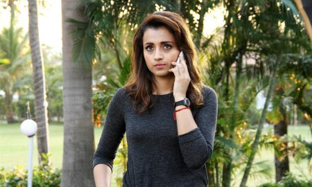 Actress Trisha in Garjanai Movie Stills