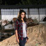 Actress Trisha in Garjanai Movie Stills