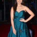 Actress Raashi Khanna Stills From 64th Film Fare Awards 2017