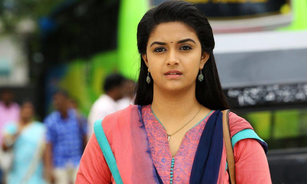 Actress Keerthy Suresh From Bairavaa Stills