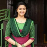 Actress Keerthy Suresh from Bairavaa Stills
