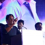 Bharathiraja at Kurangu Bommai Movie Audio Launch Stills