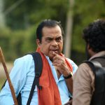 Actor Brahmanandam in Maragadha Naanayam
