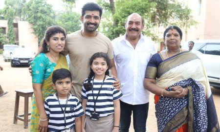Thadam Movie Poojai Stills