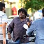 Actor Yogi Babu in Sathriyan Movie Stills