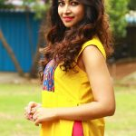 Srijitaa Ghosh at Koothan Movie Shooting Spot