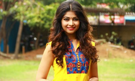 Srijitaa Ghosh at Koothan Movie Shooting Spot