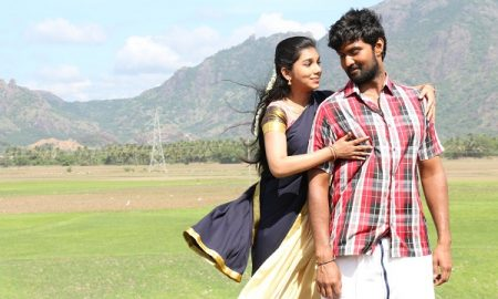Aditi Krishna, Vetri in Thangaratham Movie Stills