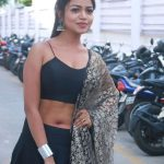 Actress Bhavya Sri at Valayal Movie Audio Launch Photos