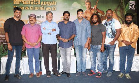 Vanamagan Press Meet