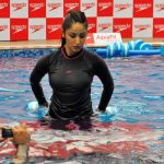 Yami Gautam at Underwater Fitness Training Programme