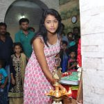 Actress Subhiksha @ Seemathanni Movie Pooja Stills