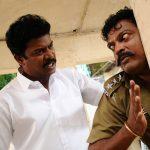 Samuthirakani, John Vijay in Kootathil Oruthan Movie Stills