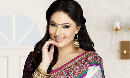 Nikesha Patel Saree Photoshoot Images