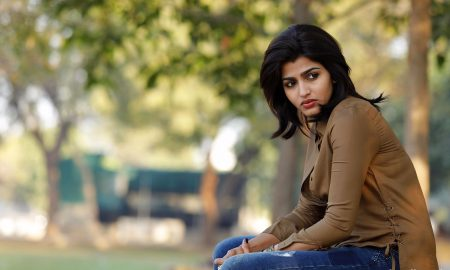 Actress Dhanshika in Kuzhali