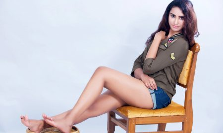 Actress Pranathy Sharma Portfolio Stills