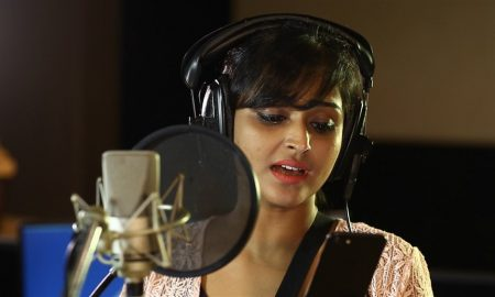 Ramya Nambeesan sings Koothan Movie Song Stills