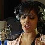 Ramya Nambeesan sings Koothan Movie Song Stills
