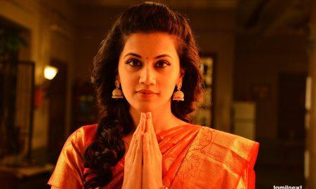 Actress Taapsee Pannu in Anando Brahma Telugu Movie HD Stills