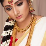 Actress Adhiti Menon Onam Photoshoot