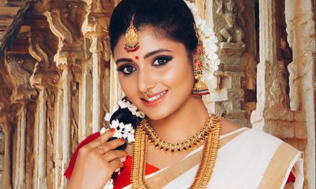 Actress Adhiti Menon Onam Photoshoot