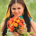 Actress Manju Deekshith in Malli Movie