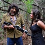 Mansoor Ali Khan, Jeni Fernandez in Kadamanpaarai Movie