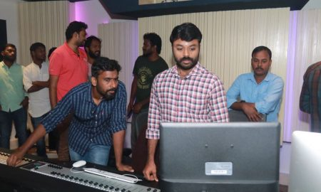 Kaala Movie Dubbing Pooja Photos