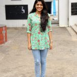 Actress Aparna Balamurali @ Sarvam Thaala Mayam Movie Pooja Stills