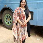 Singer Saindhavi @ Sarvam Thaala Mayam Movie Pooja Stills