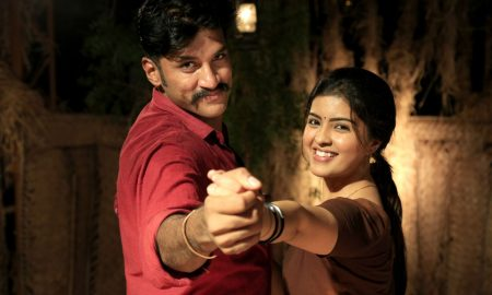 Vijay Yesudas, Amritha in Padai Veeran Movie Stills