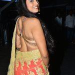 Kasthuri at Jio Filmfare Awards South 2018