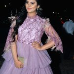 Manasa Himavarsha at Jio Filmfare Awards South 2018