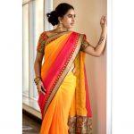 Srushti Dange Saree Portfolio Pics