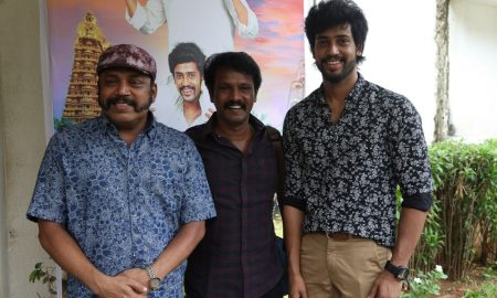 Maniyar Kudumbam Audio Launch Stills