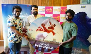 Sarvam Thaala Mayam Single Track launch at Suryan FM