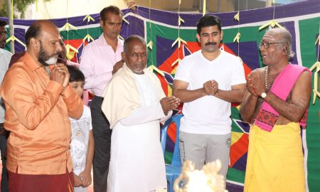 Thamizharasan Movie Launch Stills