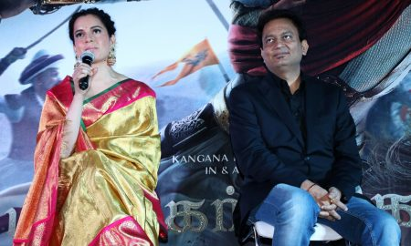 Manikarnika Movie Press Meet Stills