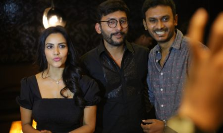 LKG Movie Premiere Show Photos