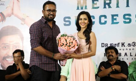 LKG Movie Success Meet Photos