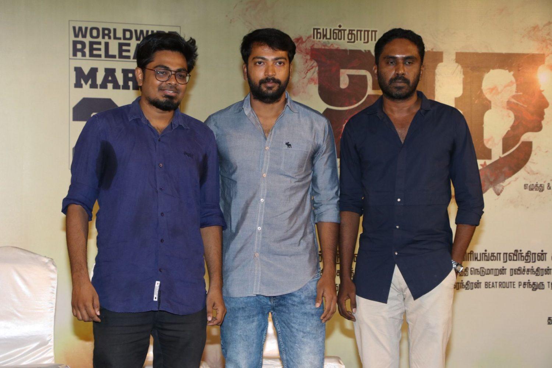 Airaa Movie Press Meet Stills