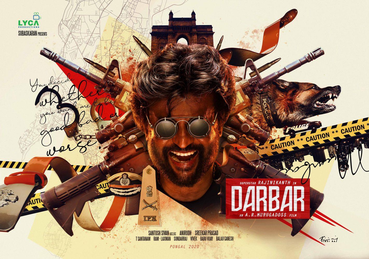 Darbar Movie Pooja Stills and HD Posters