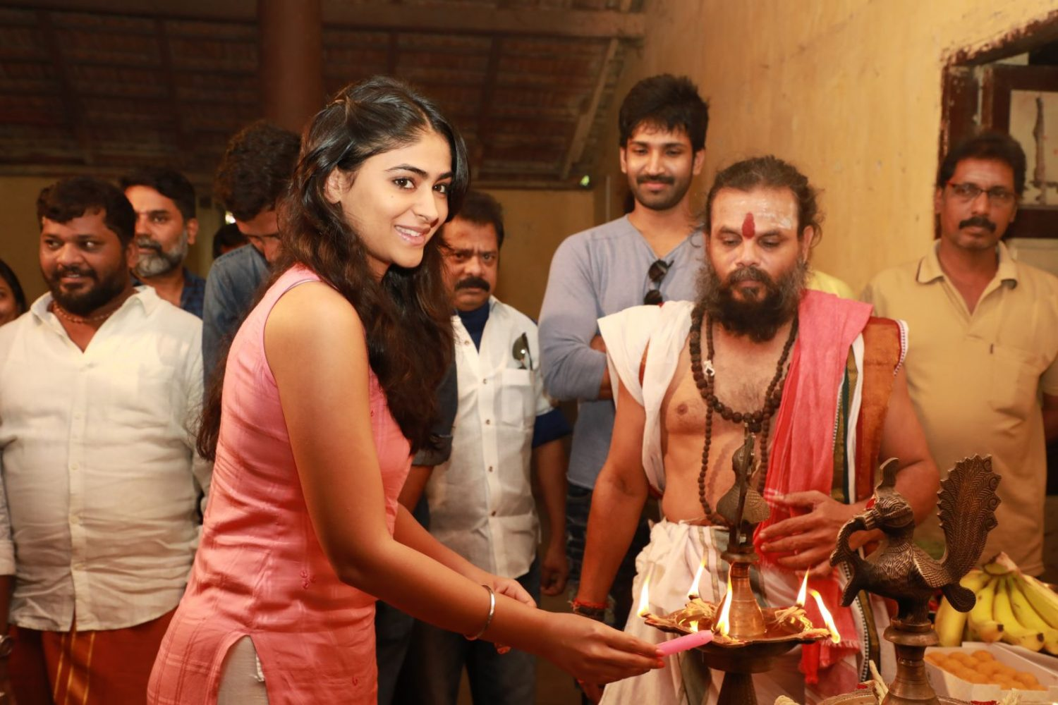 Partner Movie Pooja Stills